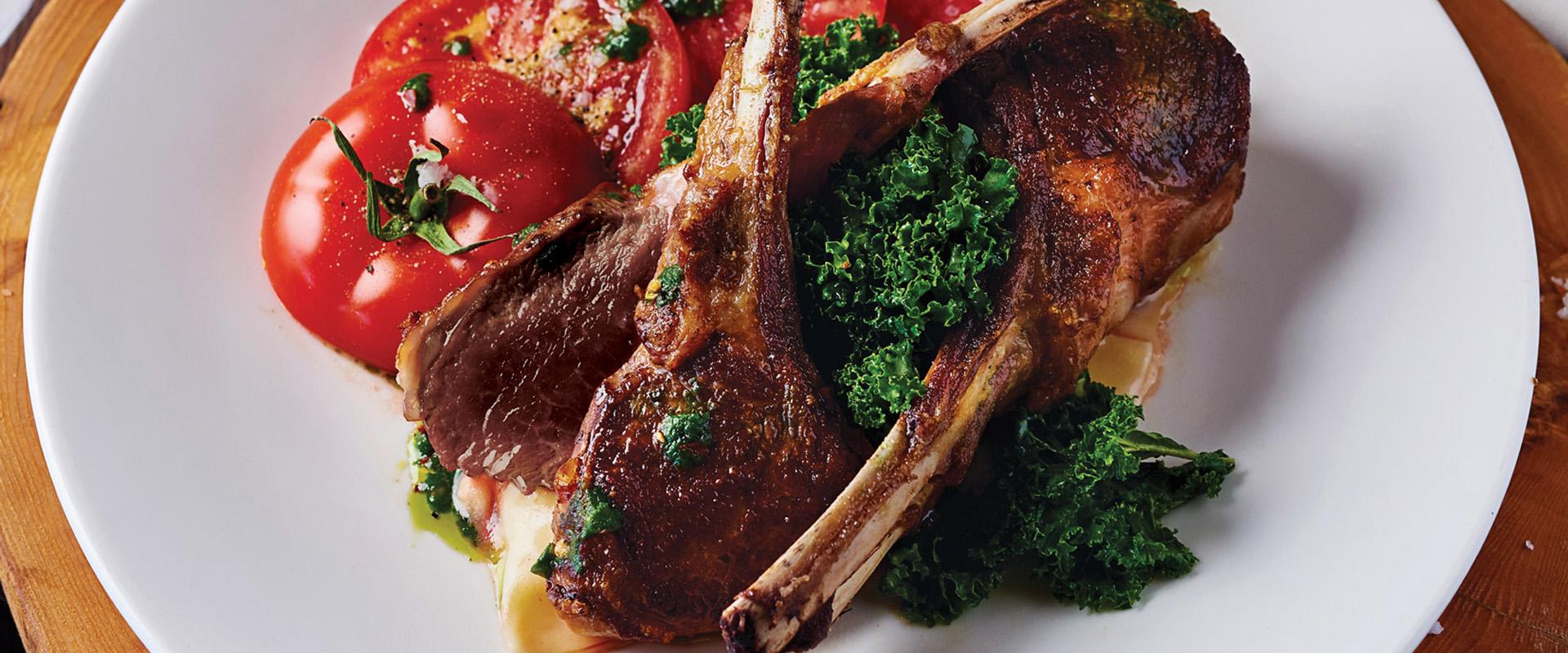 Lamb w/ Kale